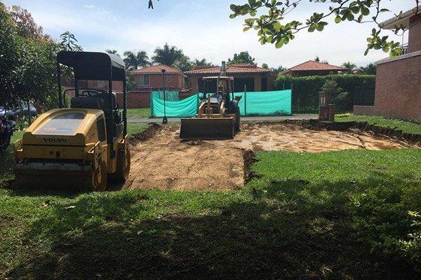 Adecuación terreno lote la morada jamundi