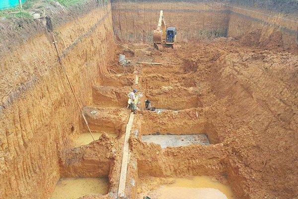 Retiro de tierra y excavación
